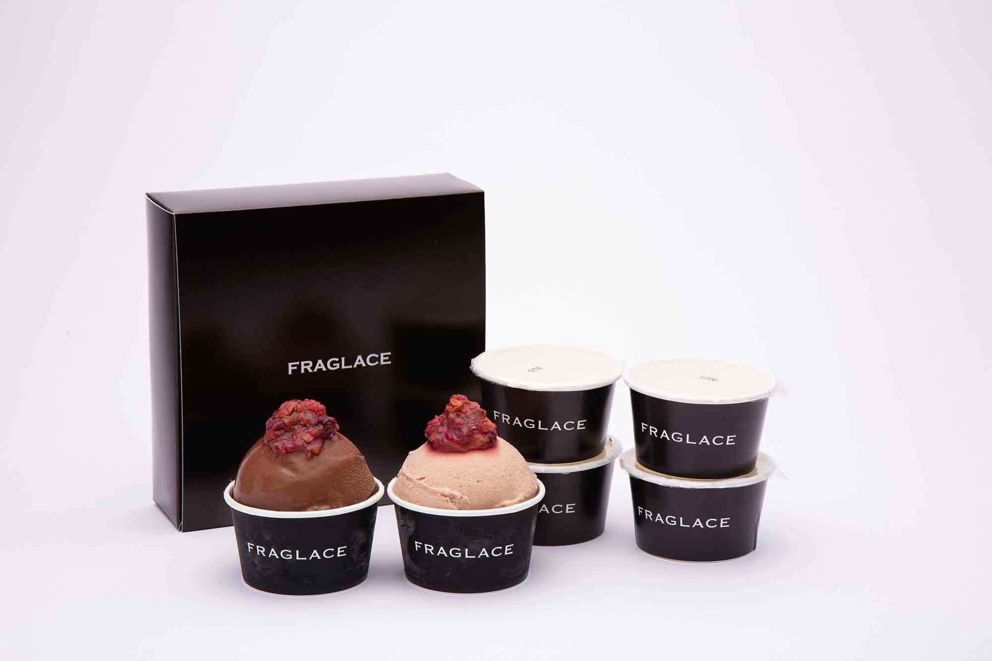 お取り寄せにおすすめの絶品アイス FRAGLACE バラのアイスクリーム